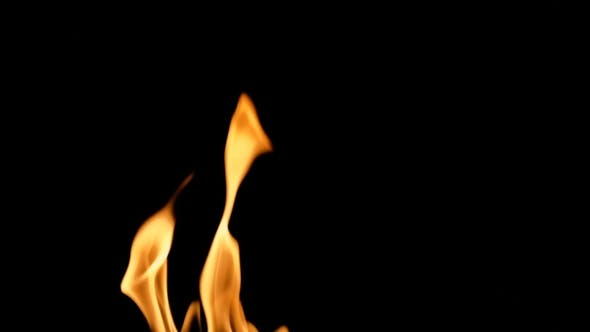 Detailed Fire Background