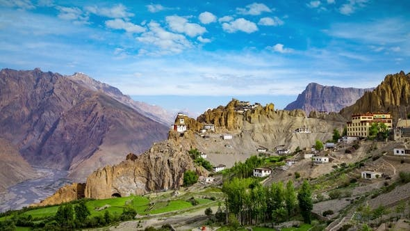 Thumbnail for Dhankar Gompa. India. Spiti Valley