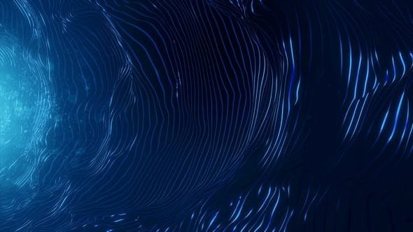 Thumbnail for Blue Strings Abstract Background