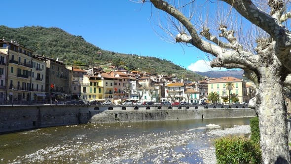 Thumbnail for Medieval Town of Dolceacqua in Liguria, Italy