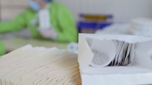 Thumbnail for Paper Package with Tea Bags Inside