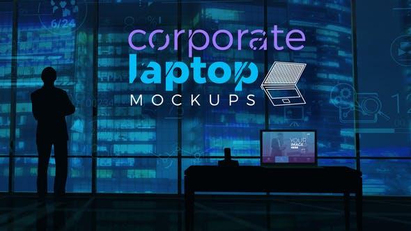 Corporate Laptop Mockups
