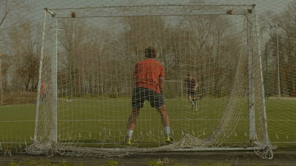 Thumbnail for Young Goalkeeper Making Save After Penalty Kick
