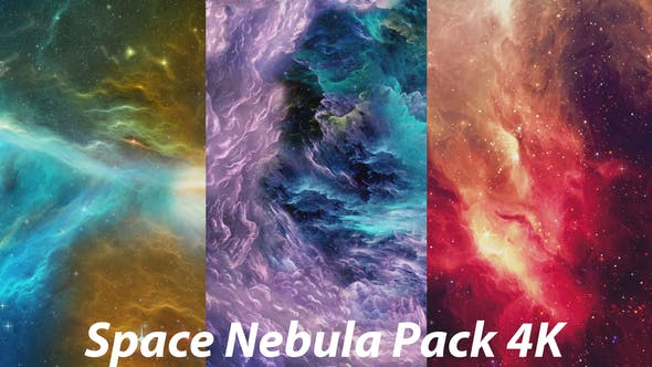 Thumbnail for Colorful Space Nebula in the Vast Space