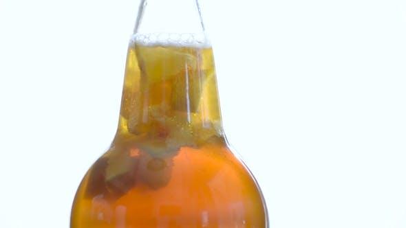 Thumbnail for Fresh Bottle of Lemon Kombucha