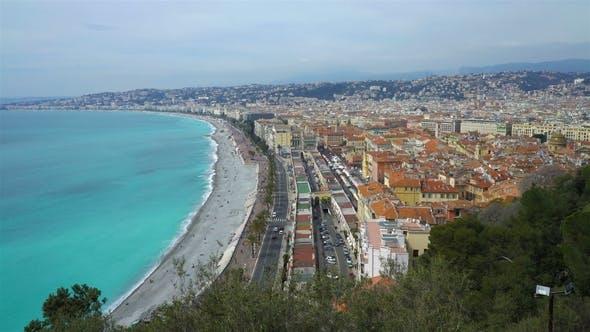 Nice, Bay of Angels, Provence, Côte D'azur, France