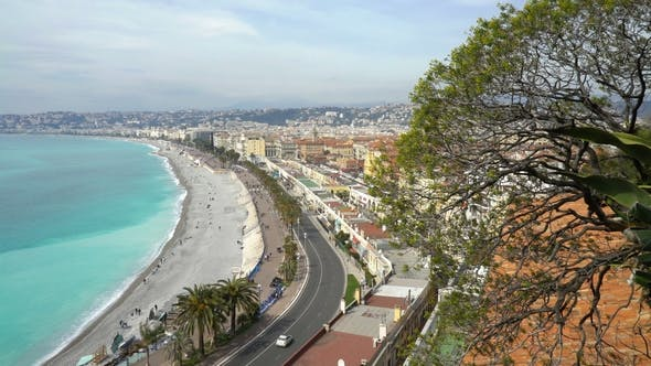 Thumbnail for Nice, Bay of Angels, Provence, Côte D'azur, France