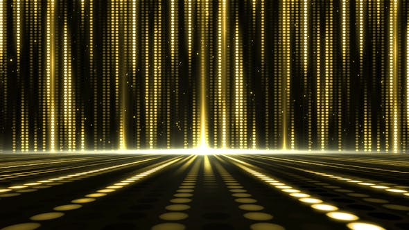 Thumbnail for Gold Stage Light Background