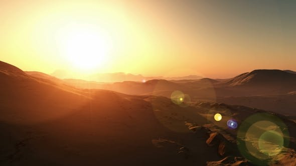 Thumbnail for Dramatic Surface of Planet Mars