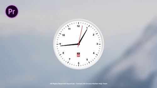 Analog Clock Creator For Premiere