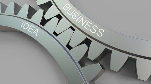 BUSINESS IDEA Caption on Meshing Gears