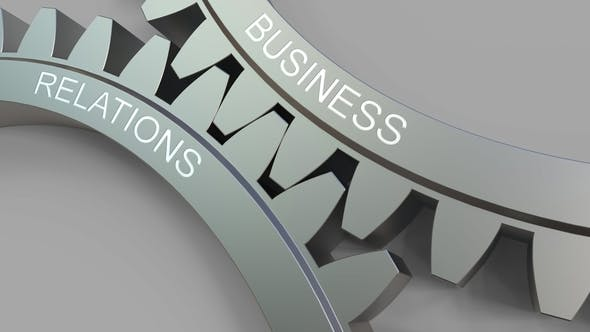 Thumbnail for BUSINESS RELATIONS Caption on Meshing Gears