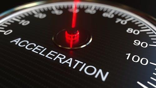 Acceleration Meter or Indicator