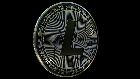 Thumbnail for 4K Litecoin Rotating