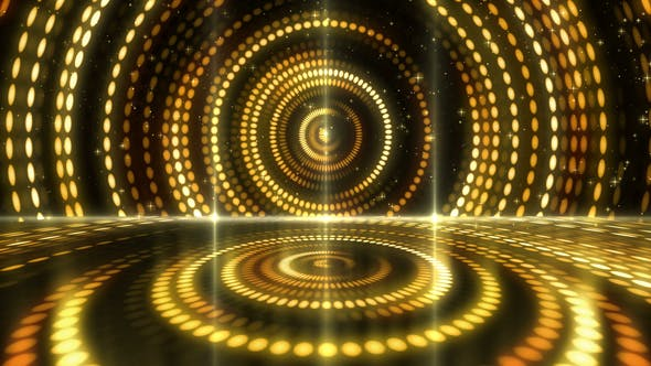 Thumbnail for Gold Stage Light Background 03