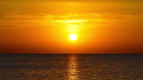 Thumbnail for Beauty Landscape with Sunrise Over Sea,