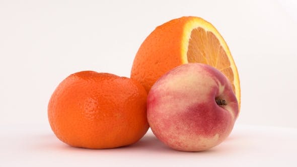 Thumbnail for Nectarine, Orange Fruit and Mandarin
