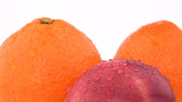 Thumbnail for Juicy Orange Fruit, Mandarine and Nectarine