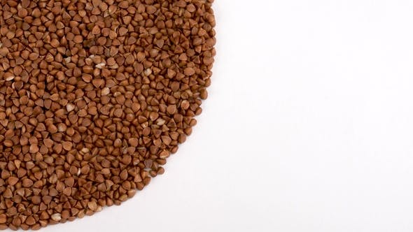 Thumbnail for Heap of Toasted Buckwheat Rotating