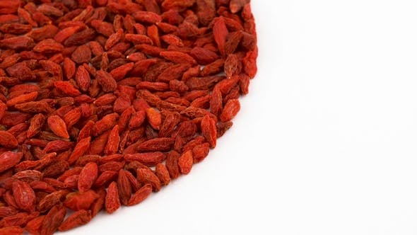 Thumbnail for Heap of Organic Dried Goji Berries Rotating