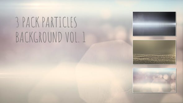 Thumbnail for 3 Pack Particles Backgrounds Vol.1