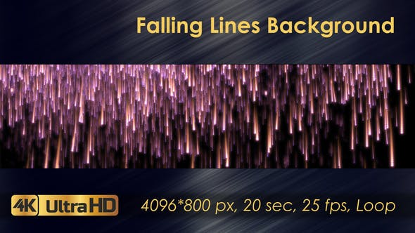Thumbnail for Falling Lines Background