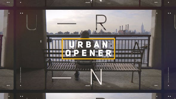 Thumbnail for Urban Opener / Dynamic Slideshow / Hip-Hop Lifestyle / Cities and Streets