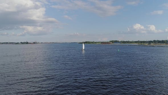 Thumbnail for Yacht, Boats in the Bay, Schooner, Sea, Thai, Riga, Yacht, Daugava River, Beach, Ship