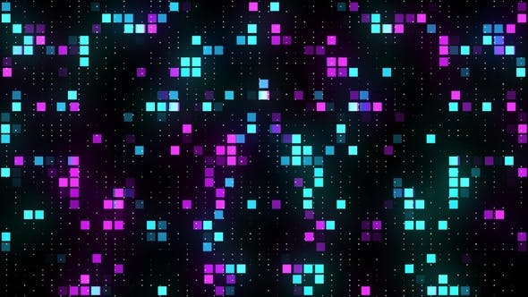 Cover Image for Vj Abstract Colorful Squares Background