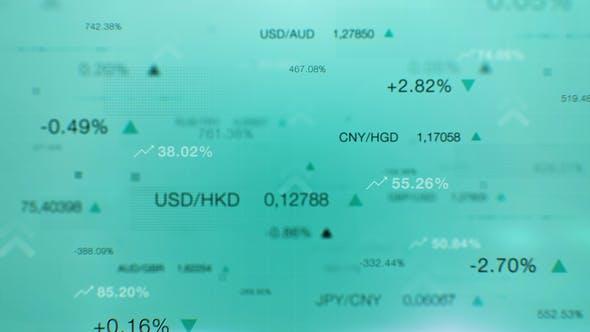 Thumbnail for Financial Economy Stock Market Background
