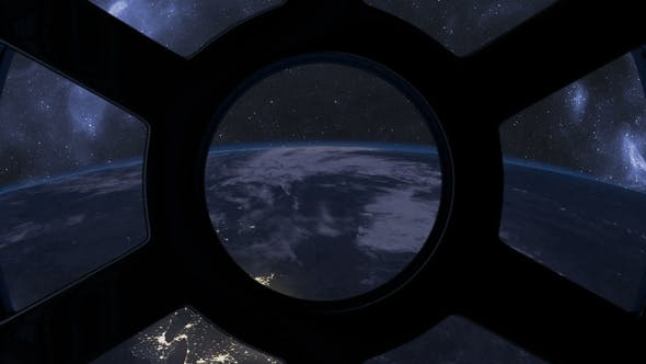 Thumbnail for Sunrise Seen From ISS Window