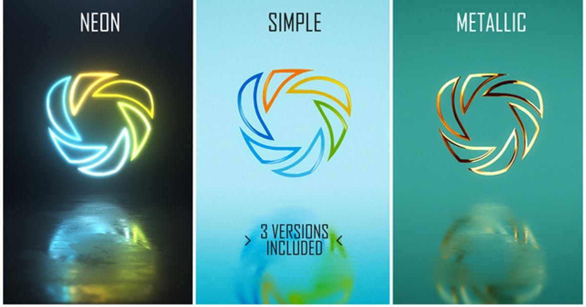 Download Minimal Logo Pack (3 versions) by piktufa