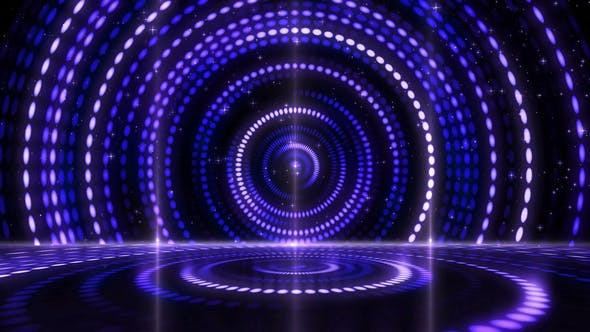 Thumbnail for Digital Abstract Stage Performance Lights Background 11