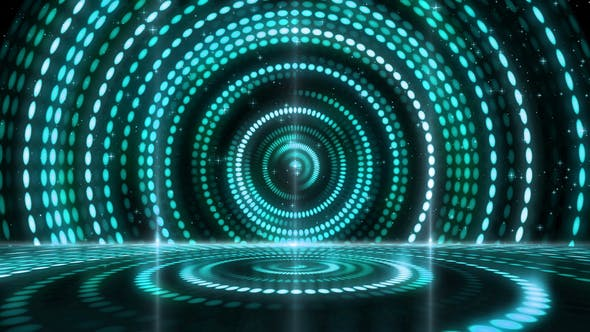 Thumbnail for Digital Abstract Stage Performance Lights Background 09