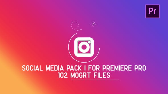 Thumbnail for Social Media Pack | MOGRT for Premiere PRO
