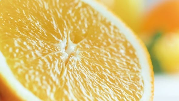 Thumbnail for Video of Hand Squeezing Fresh Juicy Orange