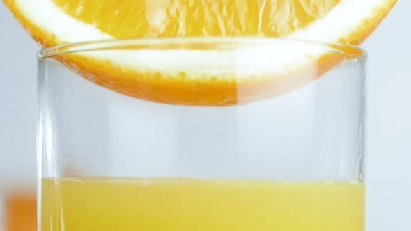 Thumbnail for Video of Glass Being Filled with Fresh Orange Juice