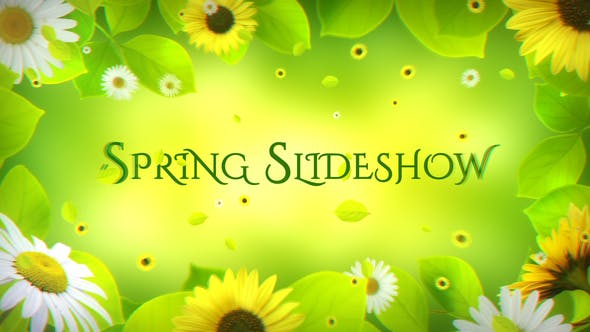 Thumbnail for Spring Slideshow