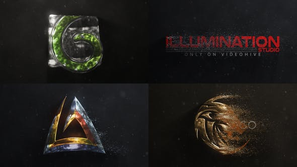 Thumbnail for Logo Particules 3D