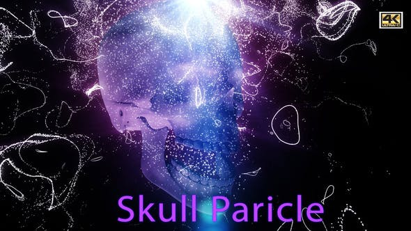 Thumbnail for Skull Particle 4K