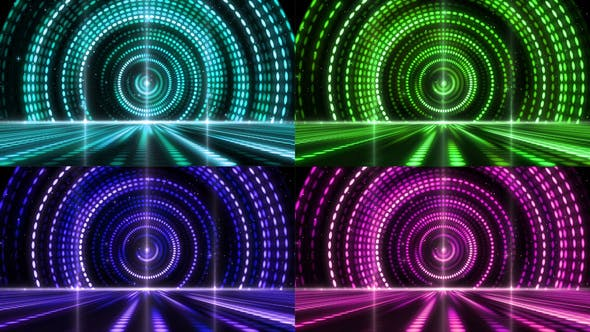 Thumbnail for Retro Stage Awards Lighting Background 01