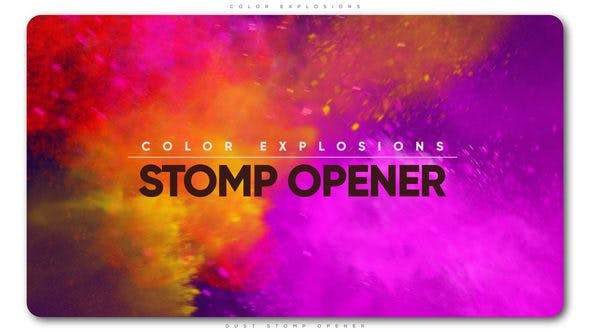 Thumbnail for Color Explosions Stomp Opener