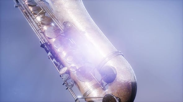 Cover Image for Golden Tenor Saxophone