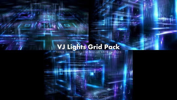 Thumbnail for VJ Lights Grid Pack 2
