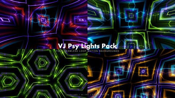 Thumbnail for VJ Psy Lights Pack