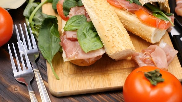 Delicious Healthy Homemade Sandwich