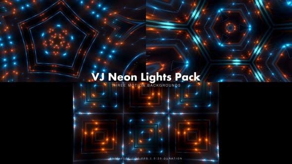 Thumbnail for VJ Neon Lights Pack 4