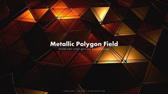 Thumbnail for Metallic Polygon Field 2