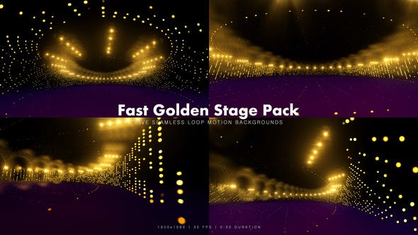 Thumbnail for Fast Golden Stage Pack