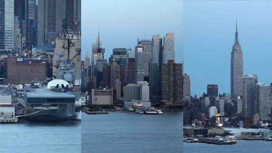 Manhattan Skyline Pack Full HD